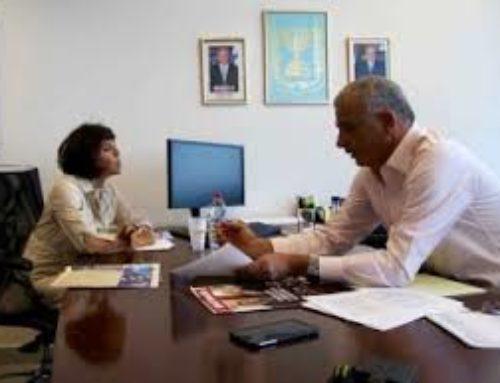 Elisabeth Lamy rencontre le ministre des Finances