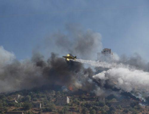 Israël : chaleur record et incendies
