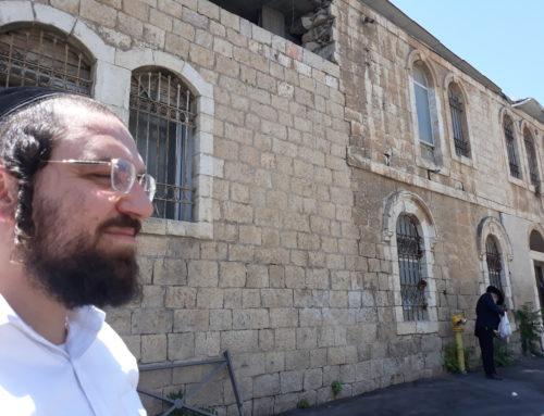 AVNEI TZION: Sauvons les vieilles maisons de Jérusalem