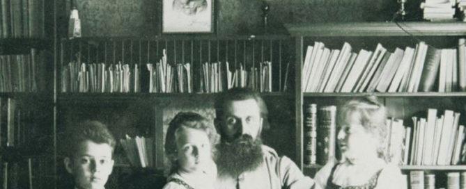 herzl avec ses enfants