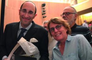 KAY WILSON et Rabbi Meir SOLOVEICHIK