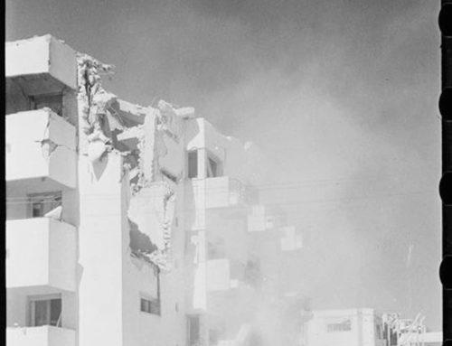 Tel-Aviv bombardé par les Italiens en 1940
