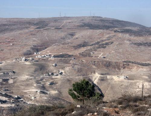 Acquisition de terres en Judée-Samarie par le KKL