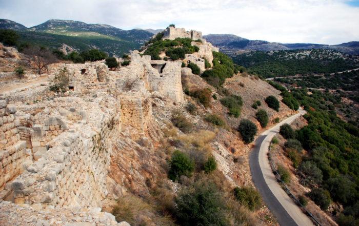 Châteaux-forts d'Israël