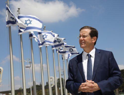 Isaac Herzog, un tournant pour un président attendu