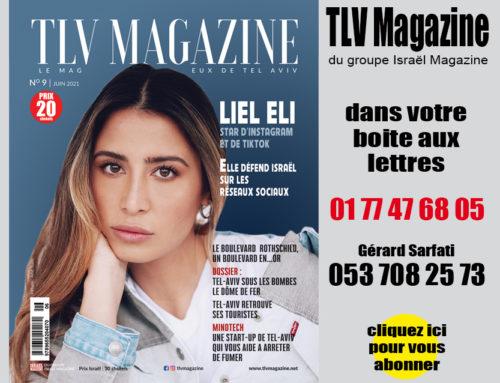 Tel-Aviv Magazine du groupe Israel Magazine